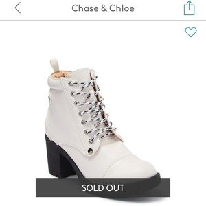 Chase and Chloe Leo boots
